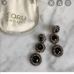 Sorry Jewelry Onyx Earrings